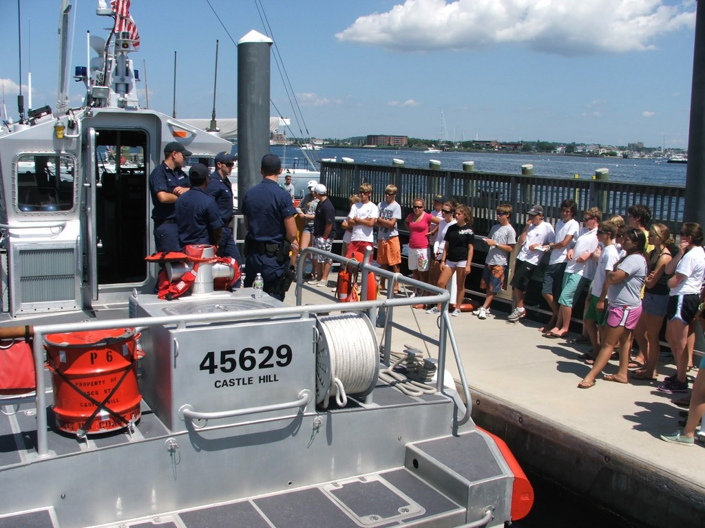 Safety at sea participants hear about the USCG role in safety at sea