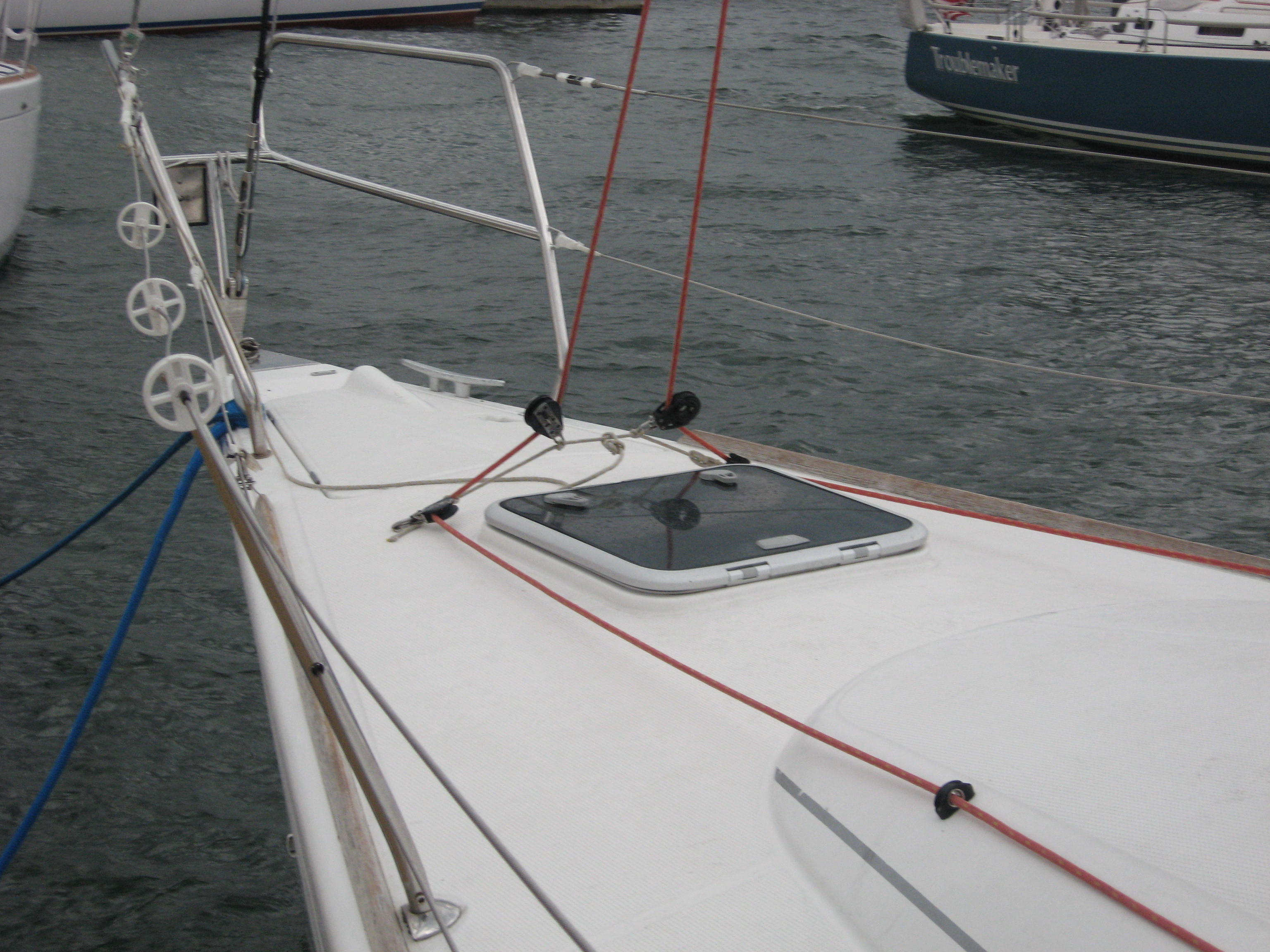 Foredek of Beneteau