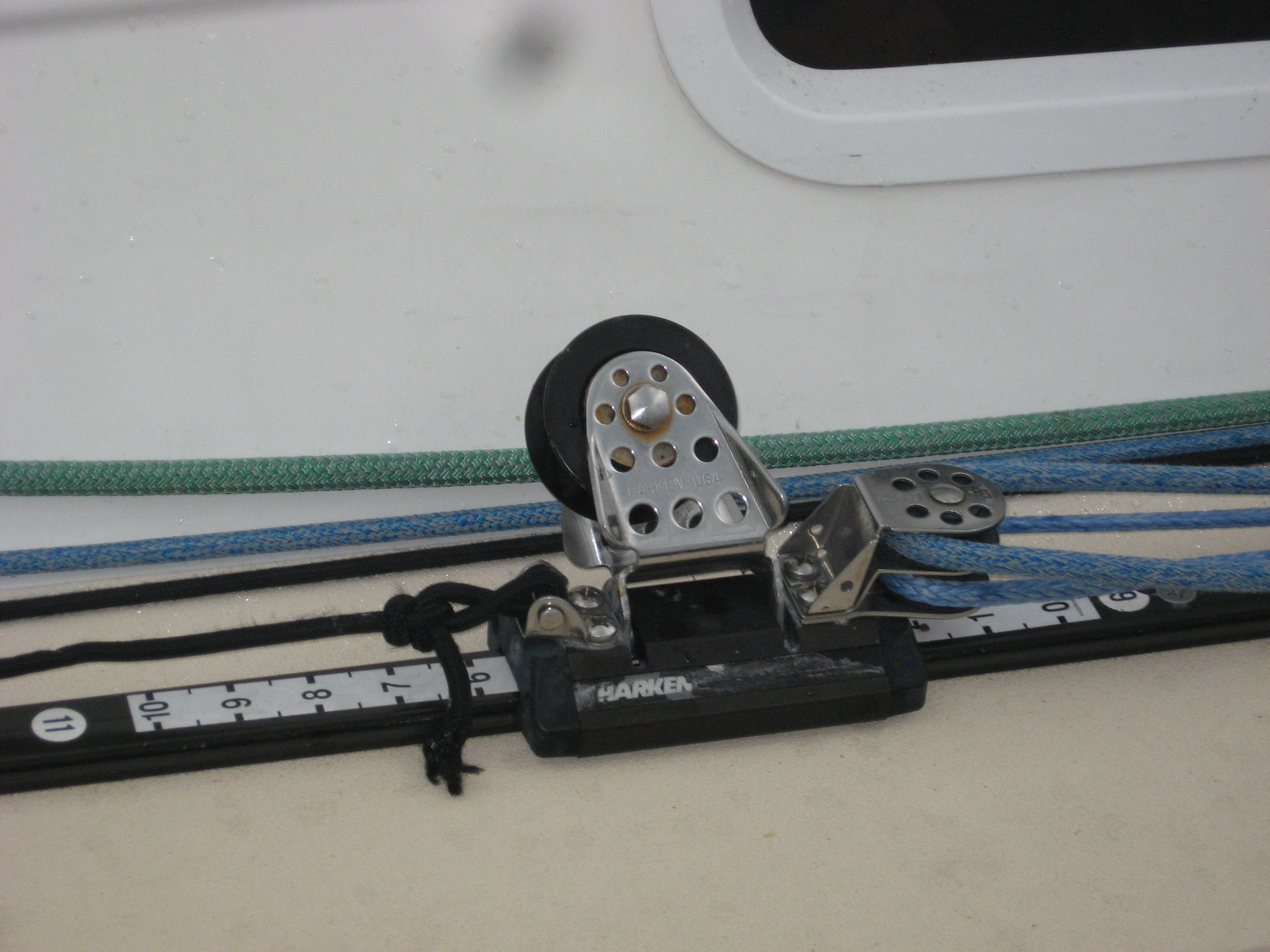 Harken lead adjuster on J109