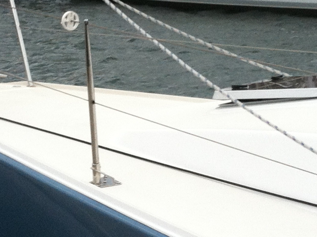 foredeck of J109