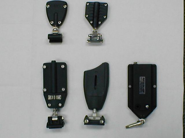A selection of available batten hardware