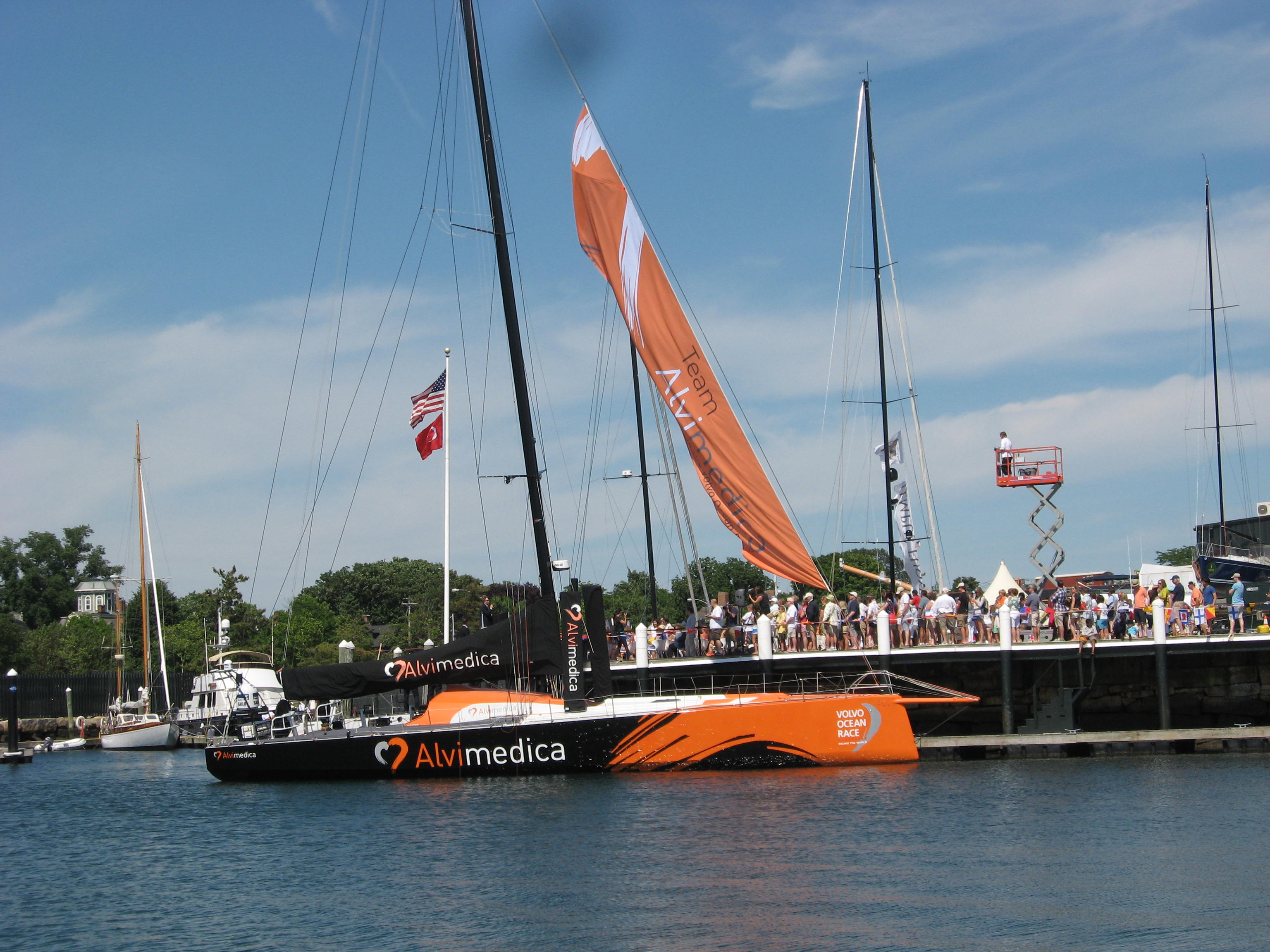 US entry in the 2014/15 Volvo Ocean Race