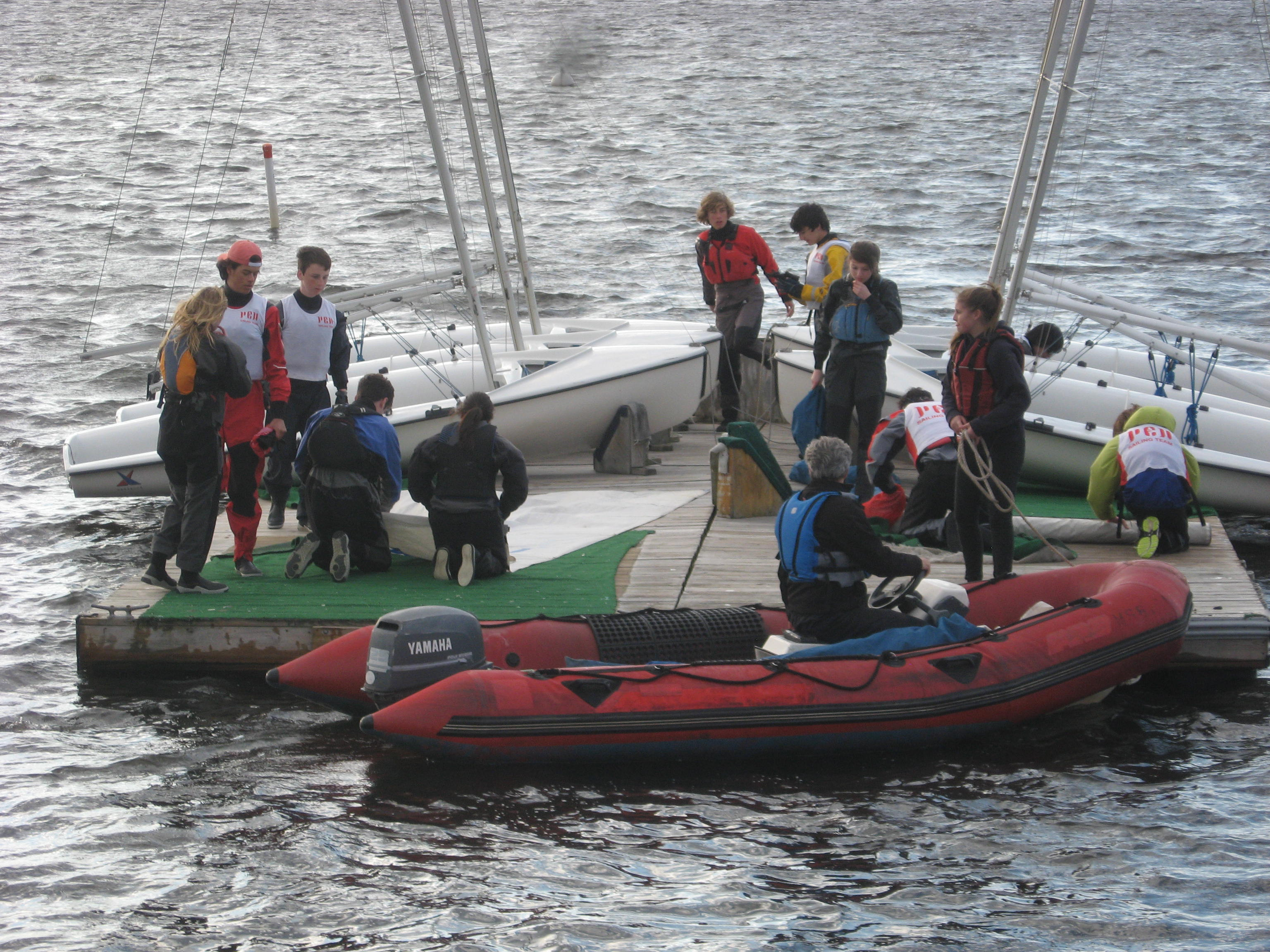 Coaching the next generation of young sailors is one of the most rewarding activities I do today