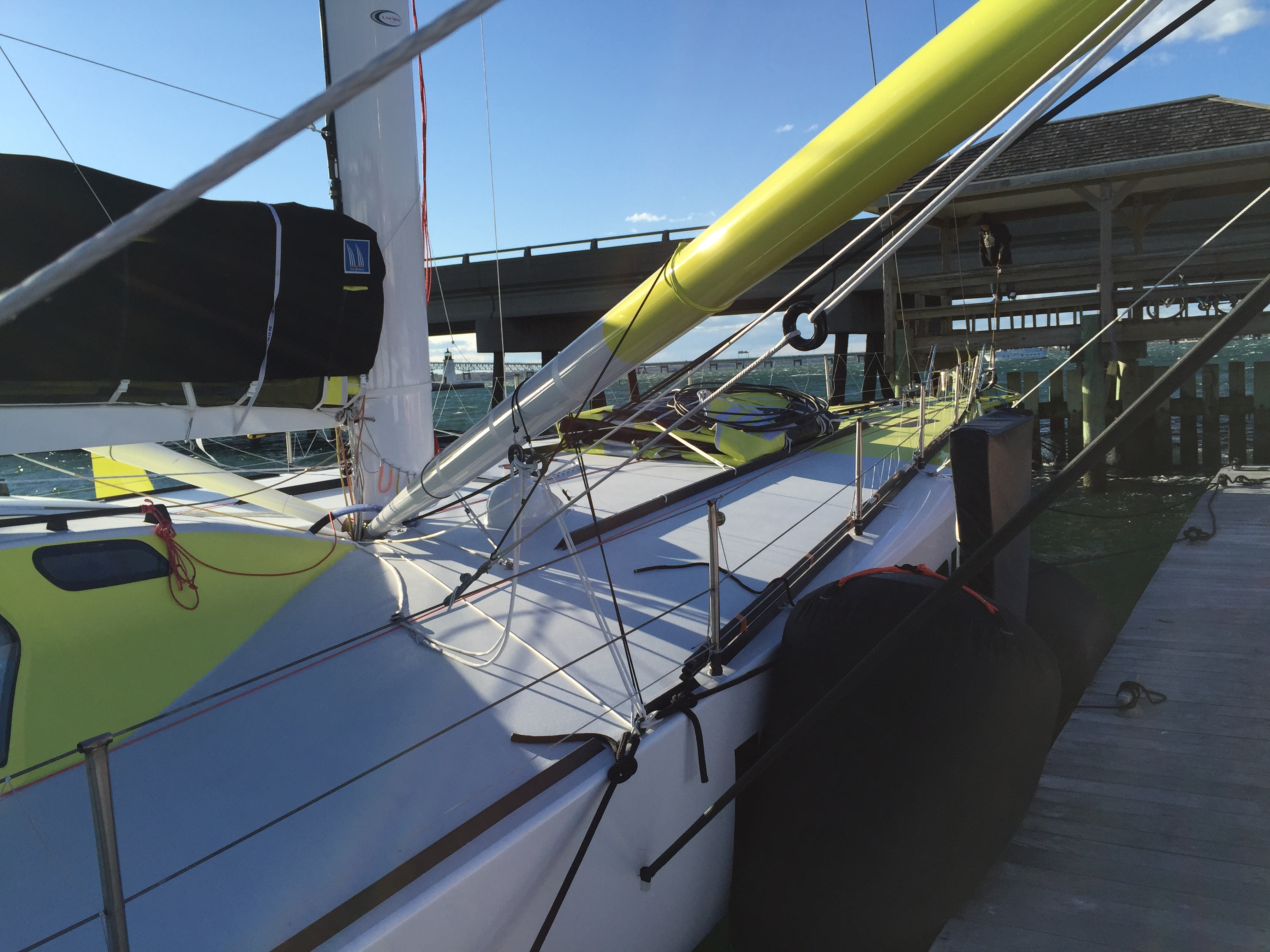 Carbon wing masts | joecoopersailing com